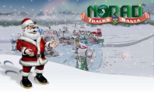 NORAD and satellite technology help Santa deliver