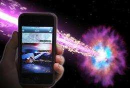 Now there's an app for NASA's Swift Observatory