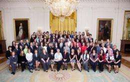 Outstanding math and science teachers honored by the President