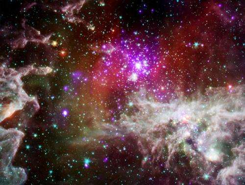 'Pacman Nebula' Lives the High Life