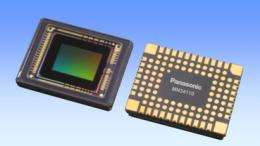 Panasonic develops new high picture quality MOS image sensor with industry's highest sensitivity