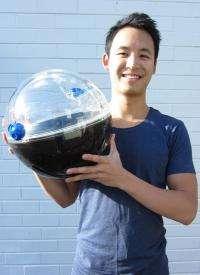 Portable solar device creates potable water