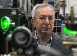 Professor Jacek Baranowski of the Institute of Electronic Materials Technology in Warsaw