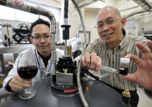 Red wine was the hands-down winner in producing the desired physical effect, as Japanese scientists discovered