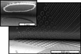 Reusable templates for the production of nanowires