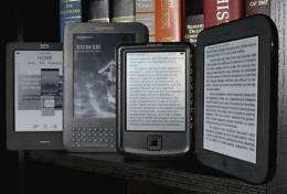 Review: 5 e-book readers for less than $175 (AP)