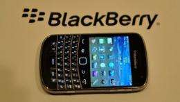 RIM said it shipped 10.6 million BlackBerry smartphones during the quarter