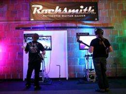 'Rocksmith' video game is slated for release on October 18