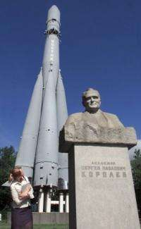 Russia is also remembering the Sergei Korolev -- the scientist who created the