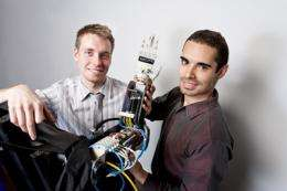 Ryerson students invent breakthrough brain-controlled prosthetic arm