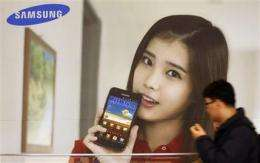 Samsung 3Q profit slides 23 percent (AP)