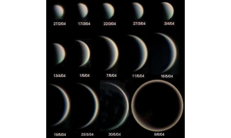 Seeing the phases of exoplanets
