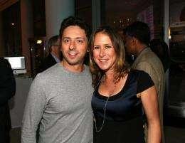 Sergey Brin and his wife Anne Wojcicki