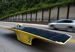 Solar car Quantum to tour Michigan in the ultimate road test