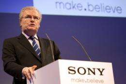 Sony CEO Howard Stringer vowed he would not step down after a year of setbacks