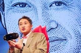 Sony Corporation senior executive, Kazuo Hirai