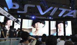 Sony gears up for PlayStation Vita's Japan launch (AP)