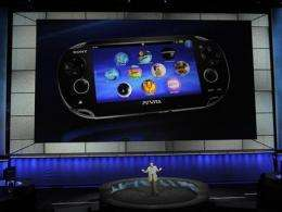 Sony unveils next-gen portable device 'Vita' (AP)