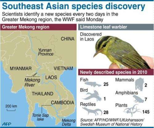 Southeast Asian species discovery
