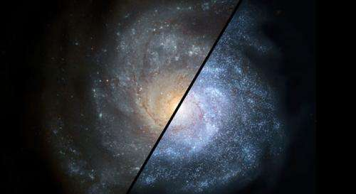 Spitzer finds distant galaxies grazed on gas