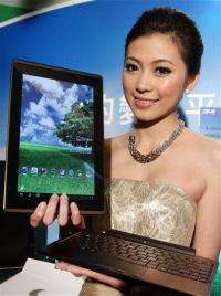 Taiwan's AsusTek launches Android-powered tablet (AP)