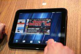 The HP Palm tablet, Touch Pad