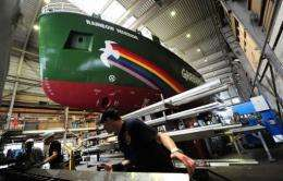 The Rainbow Warrior III will cost Greenpeace an estimated 23 million euros ($33.4 million)