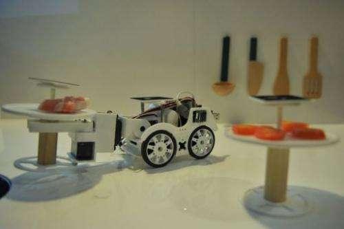 The robot car