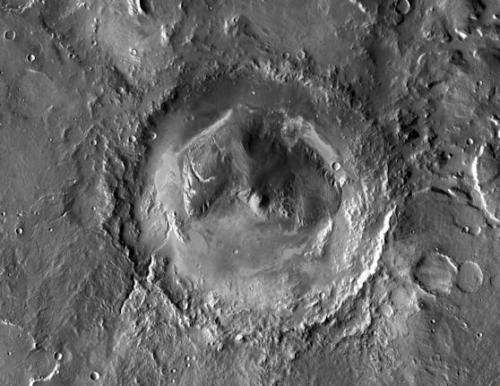 The strange attraction of Gale crater