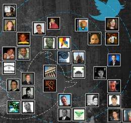 Traditional social networks fueled Twitter's spread