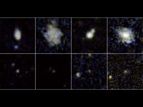 Ultraviolet spotlight on plump stars in tiny galaxies