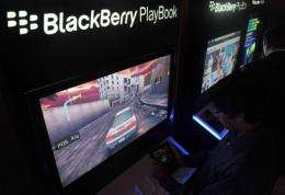 US retailers have slashed the price of the PlayBook tablet from BlackBerry maker Research In Motion by up to $200