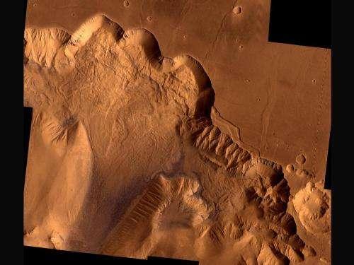 Viking 1 examines Mars' Ophir Chasma