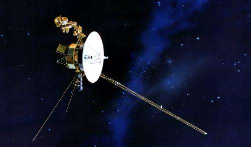 Voyager 1 measures magnetic mayhem