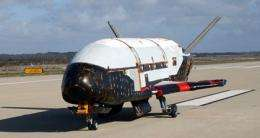 Weather delays Air Force's launch of space plane