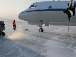 Wheels up for extensive survey of Arctic ice