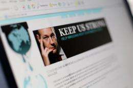 WikiLeaks released a mysterious encrypted file on Wednesday after telling its followers on Twitter to stand by