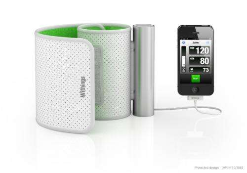 Withings makes a $129 blood pressure app for Apple devices