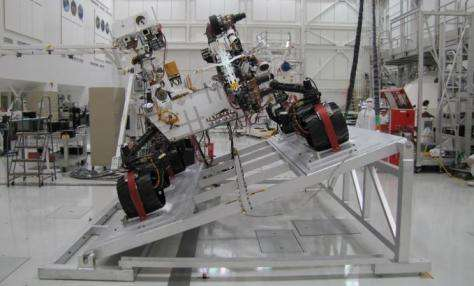 Work stopped on alternative cameras for mars rover