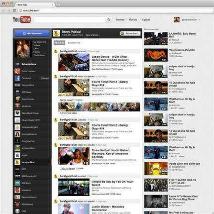 YouTube renovates website with a new look, format (AP)