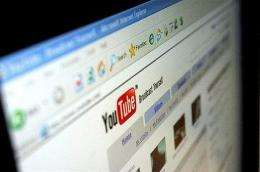 YouTube said it was attracting a staggering three billion views a day, a 50-percent increase over last year