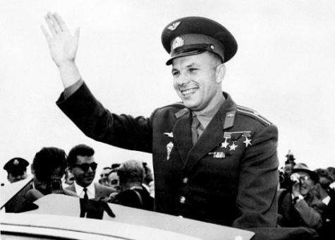 Yuri Gagarin was 27 when he journeyed into space on board Vostok 1 on April 12, 1961