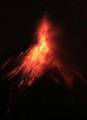 110 families evacuated in Ecuador eruption