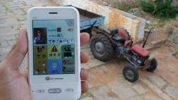 An app to re-empower farmers