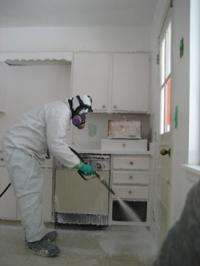 Anthrax-killing foam proves effective in meth lab cleanup