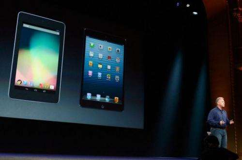 Apple introduced the new iPad mini at a sepcial event earlier this month