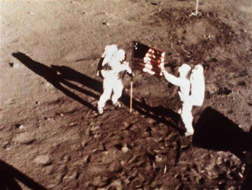 Armstrong's small step a giant leap for humanity