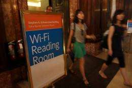 Australian scientists patented WiFi technology in the 1990s