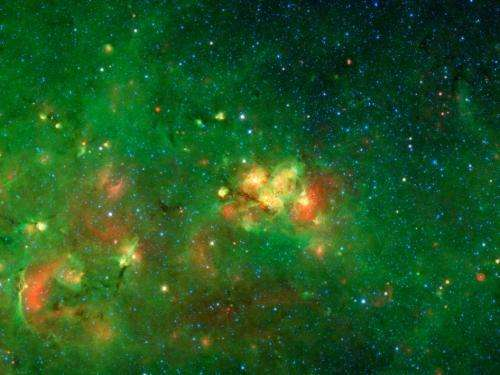Citizen scientists reveal a bubbly milky way
