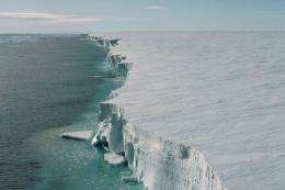 Climate scientists discover new weak point of the Antarctic ice sheet